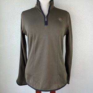 Arista Equestrian Quarter Zip Pullover Size M